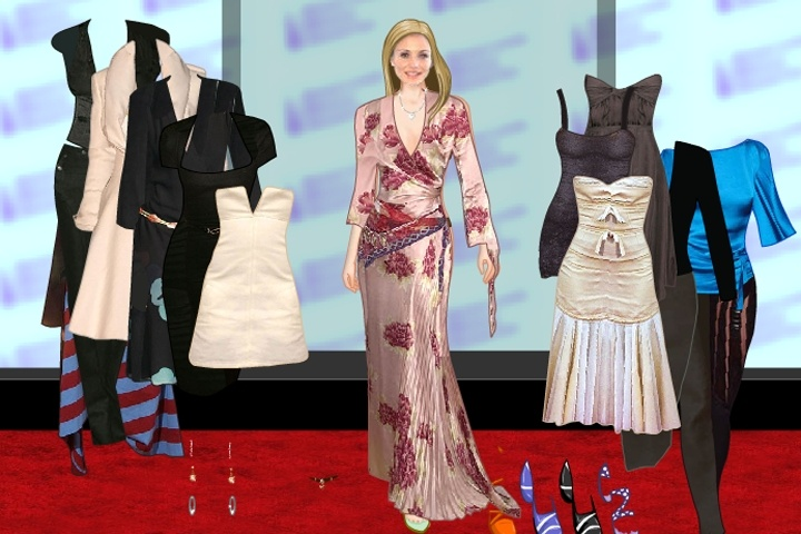 Dressup games celebrities
