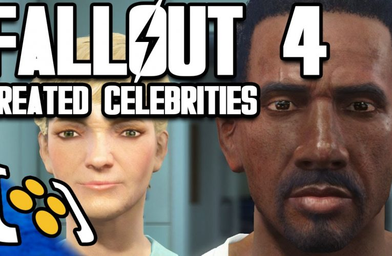 Fallout 4 character creation celebrities