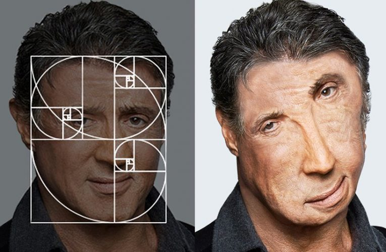 Golden ratio celebrities