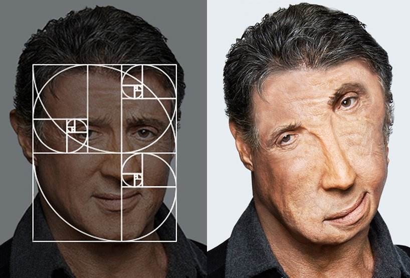 Golden ratio face celebrities