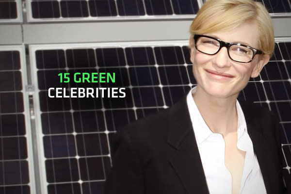 Com and meet 20 green celebrities that are making a difference …