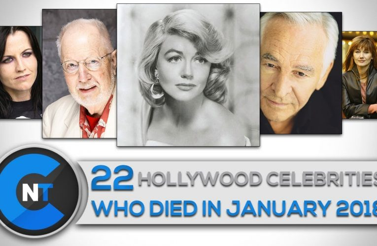 List of celebrities who died in 2018