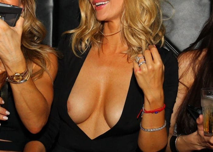 Nipple slips celebrities