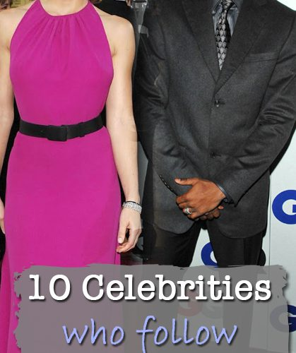 Check out some of the famous celebrities who are living …