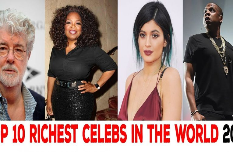 Richest celebrities 2019