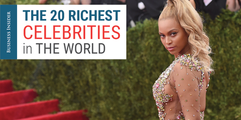 Yes, there are more than 25 richest celebrities with the highest …