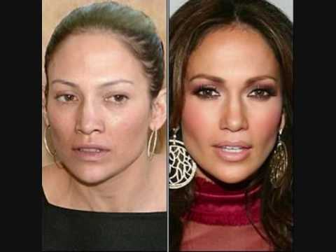 Ugly celebrities without make up