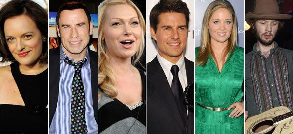 What celebrities are in scientology