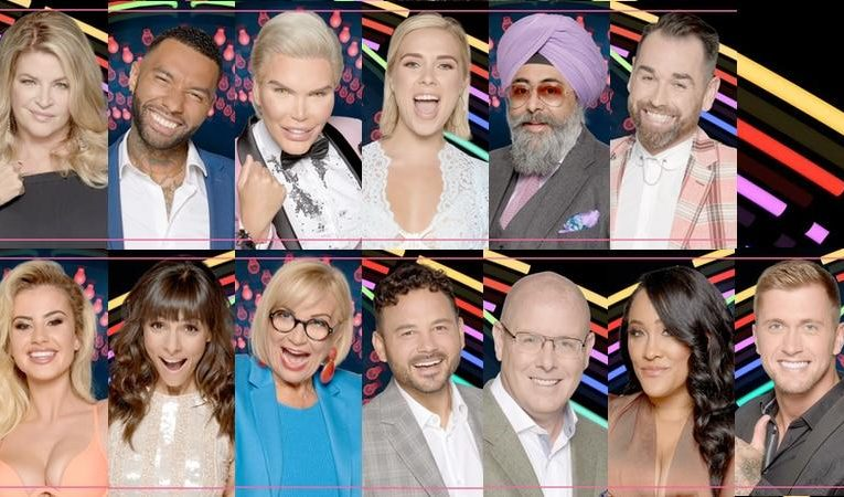 Who are the celebrities on big brother 2018
