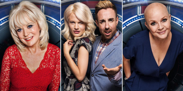Who are the celebrities on celebrity big brother